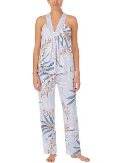 Пижамы Pima Cotton Tank PJ Set Donna Karan