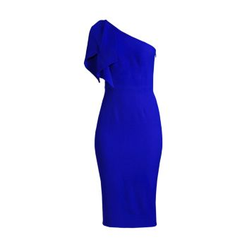 Платье Tiffany на одно плечо Dress the Population