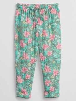 Toddler Gauze Floral Pull-On Pants Gap Factory