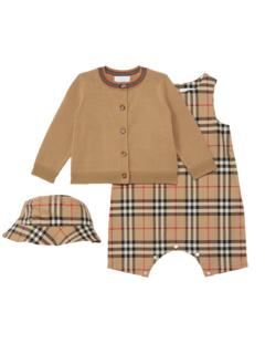 Chet Check Set (для младенцев / малышей) Burberry Kids