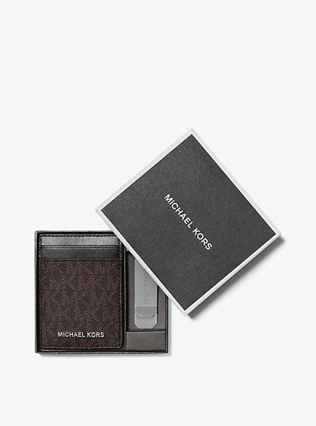 Карточка с логотипом и зажимом для банкнот Michael Kors