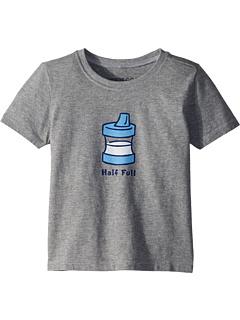 Полуприцепная футболка Sippy Cup Half Crusher ™ (для малышей) Life is Good Kids