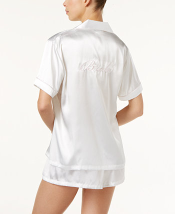 Пижамный комплект из 2 предметов с вышивкой невесты Linea Donatella
