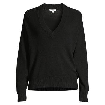 Кашемировый свитер Madalene с V-образным вырезом EQUIPMENT