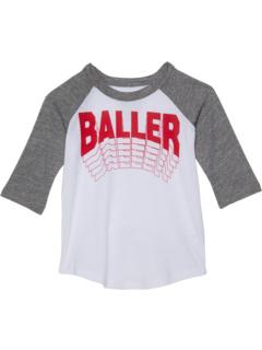 Recycled Vintage Jersey w/ Tri-Blend 3/4 Sleeve (Toddler/Little Kids) Chaser Kids