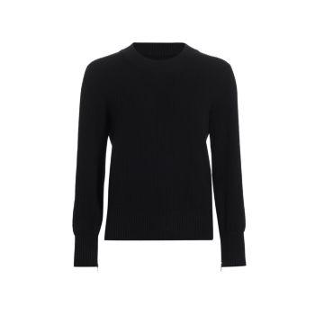 Пуловер с круглым вырезом из смесовой шерсти MM6 Maison Margiela
