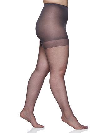 Женские колготки больших размеров с ультра прозрачным верхом, 4411 Berkshire