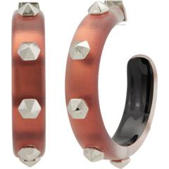 Серьги-кольца с шестигранной головкой Alexis Bittar