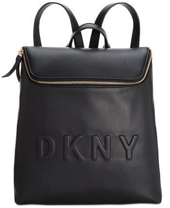 Tilly Top-Zip Bucket Backpack, созданный для Macy's DKNY