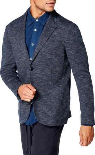 Фактурное спортивное пальто Slim Fit Good Man Brand
