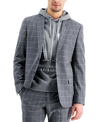 Men's Slim-Fit Suit Jacket Armani Exchange