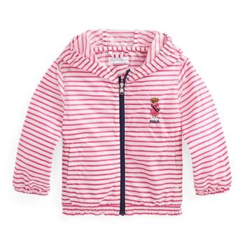 Складывающаяся куртка с капюшоном Polo Bear Ralph Lauren