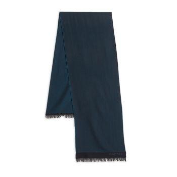 Шерстяной шарф в елочку Canali
