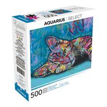 Водолей & # 34; Большую часть времени я хотел бы быть моим котом & # 34; Головоломка из 500 деталей Aquarius