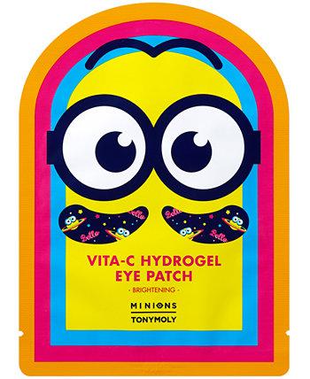 Миньоны Vita-C Hydrogel Eye Patch, 1 комплект. TONYMOLY