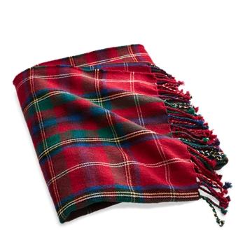 "Castelford Throw Blanket  72"" Ralph Lauren"
