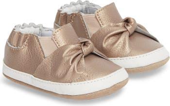 <sup> ® </sup> Ботинки для детской кроватки Bella's Bow Slip-On Robeez