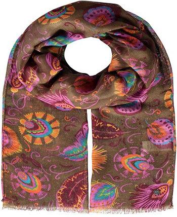 Женский шарф с оперением FRAAS