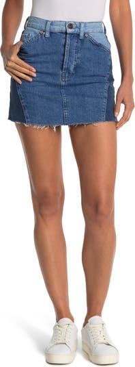 Dallas Paneled Denim Mini Skirt BDG