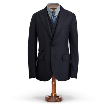 Пиджак из шерсти Birdseye Ralph Lauren