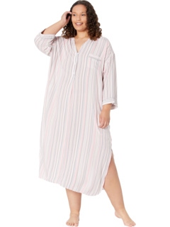 Sleepwear Plus Size Eco Vera 3/4 Sleeve Maxi Donna Karan