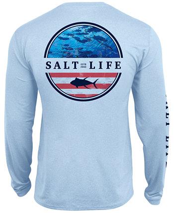 Мужская футболка с карманами Respect Performance Salt Life