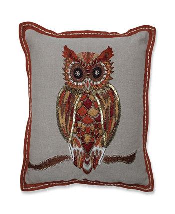 Декоративная подушка Hoot Harvest Pillow Perfect