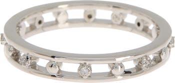 Штабелируемое кольцо с цирконом Lala Omega NADRI