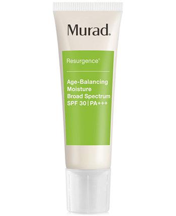 Resurgence Age-Balancing Moisture Wide Spectrum SPF 30 | PA +++, 1,7 унции Murad