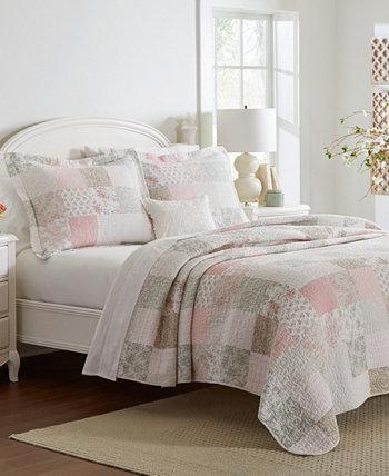 Комплект лоскутного одеяла Celina Twin, 2 предмета Laura Ashley