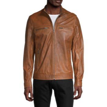 Leather Jacket RON TOMSON