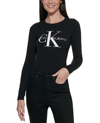 Calvin Klein Logo Bodysuit Calvin Klein