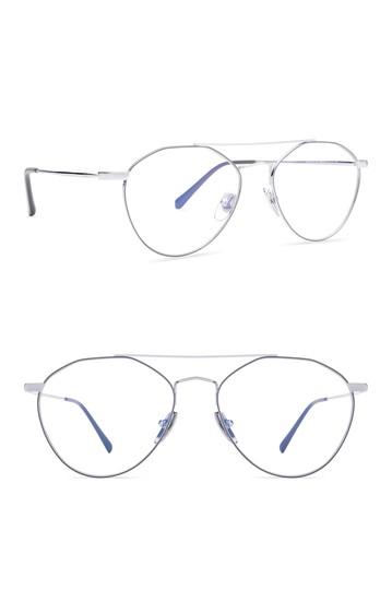 Очки-авиаторы Sunday 54 мм с блокировкой синего света DIFF Eyewear