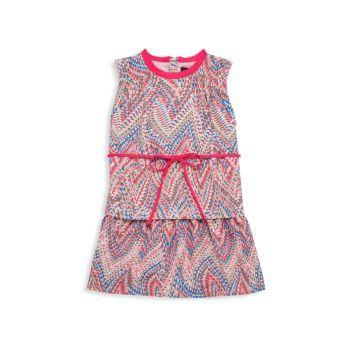Маленькая девочка & amp; Платье Girl's Joss с принтом Imoga