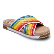 Jane and the Shoe Juniper Women's Slide Sandals JANE AND THE SHOE