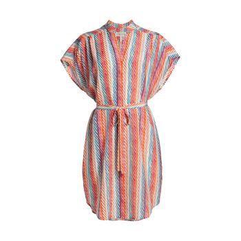Платье из шелкового крепдешина Tilda SALONI