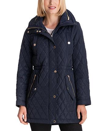 Стеганое пальто-анорак с капюшоном, созданное для Macy's Michael Kors