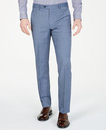 Мужские классические облегающие страйкбольные брюки голубого цвета Michael Kors