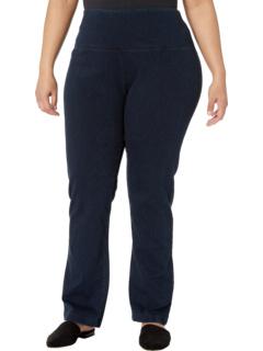 Джинсы прямые джинсы плюс размер Lysse