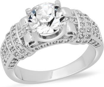 Хрустальное кольцо HMY Jewelry