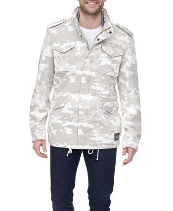 Мужская полевая куртка стандартного кроя с камуфляжной флисовой подкладкой Levi's®