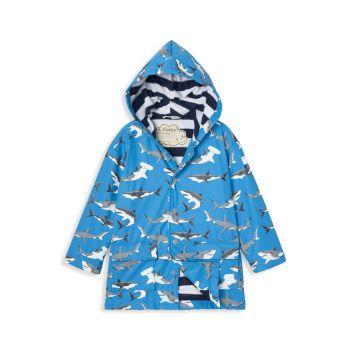 Little Boy's & amp; Дождевик для мальчиков Deep Sea Sharks Hatley