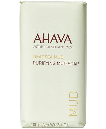 Очищающее грязевое мыло, 3,4 унции AHAVA