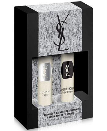Мужские 2 шт. Праздничный подарочный набор L'Homme Yves Saint Laurent