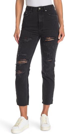 Черные прямые джинсы Chlo Wasted Rat Attack Ksubi