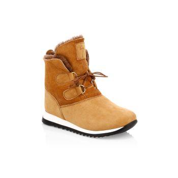 Детские & amp; Замшевые ботинки для маленьких мальчиков на короткой подкладке Sunrise Giuseppe Zanotti