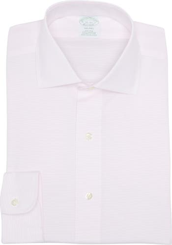 Рубашка миланового кроя с длинными рукавами добби Brooks Brothers
