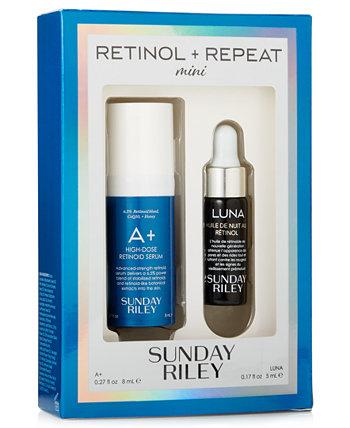 Пробный набор A + и Luna Retinol Sunday Riley