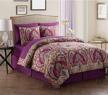 Комплект постельного белья из дамасского стеганого одеяла Alissia - Queen VCNY HOME