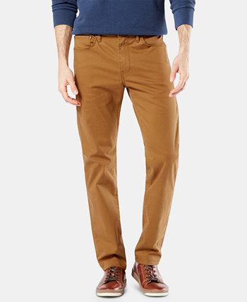 Мужские брюки Slim Fit Jean-Cut Supreme Flex, созданные для Macy's Dockers